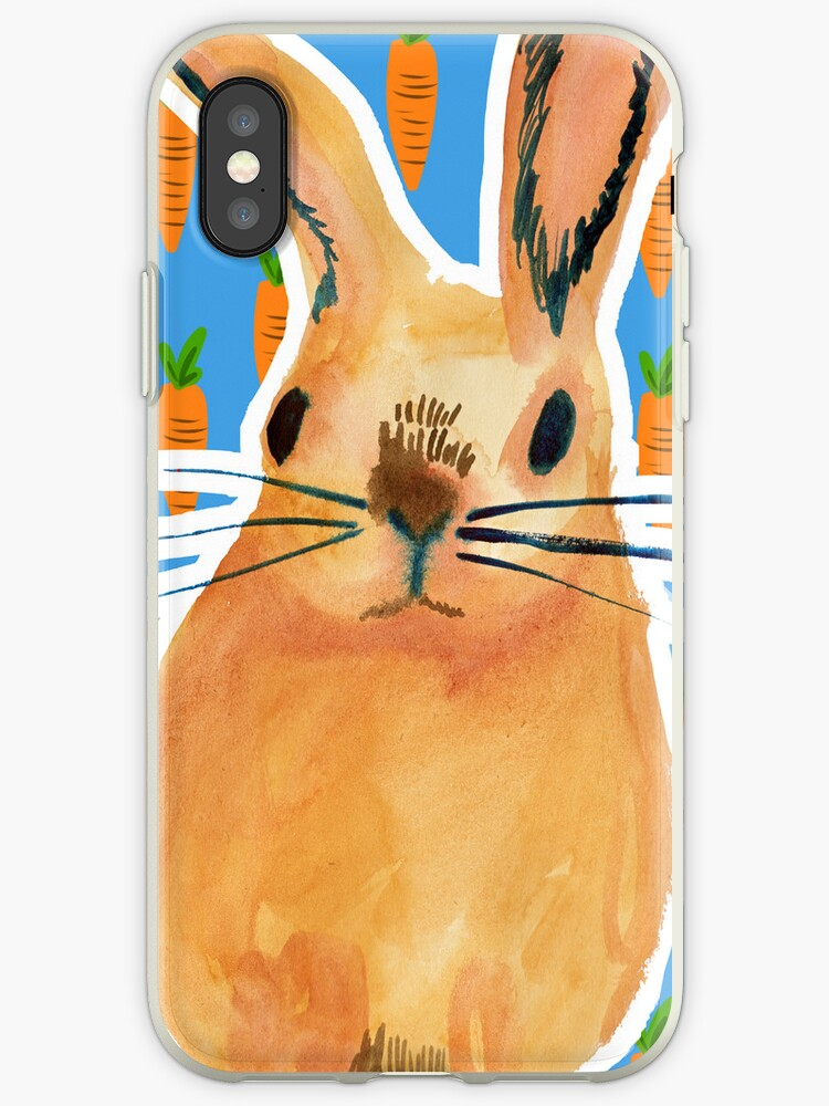 mr bunny iPhone by pondicherrybaby