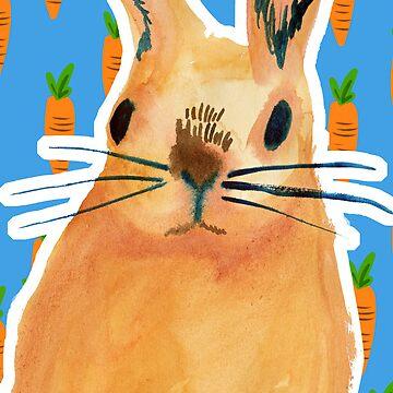 mr bunny iPhone by pondicherrybaby