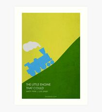 The Little Engine That Could Art Print
