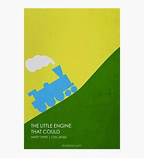 The Little Engine That Could Photographic Print