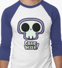 Grave Logo Men's Baseball ¾ T-Shirt