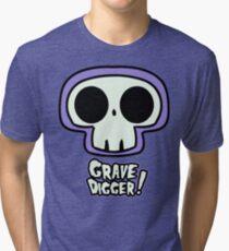 Grave Logo Tri-blend T-Shirt