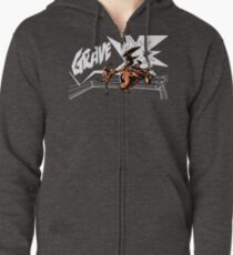 Grave - Finisher  Ver. 2 Zipped Hoodie