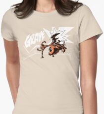 Grave - Finisher  Ver. 2 Womens Fitted T-Shirt
