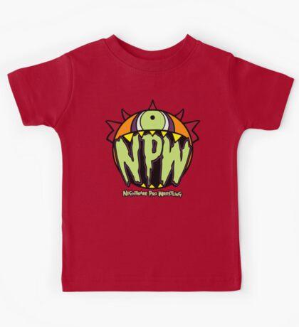 Nightmare Pro Wrestling - Logo  Kids Clothes