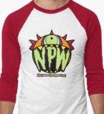 Nightmare Pro Wrestling - Logo  Men's Baseball ¾ T-Shirt