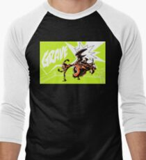 Grave - Finisher Tee Men's Baseball ¾ T-Shirt