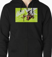 Grave - Finisher Tee Zipped Hoodie