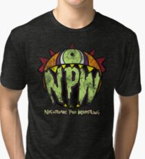 Nightmare Pro Wrestling - Vintage Tee Tri-blend T-Shirt