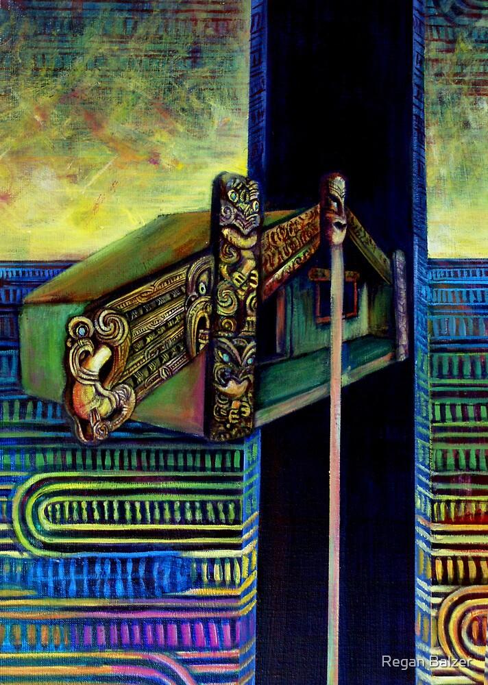 Whare whakangahau by Regan Balzer