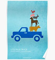 Little Blue Truck Poster