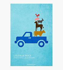 Little Blue Truck Photographic Print