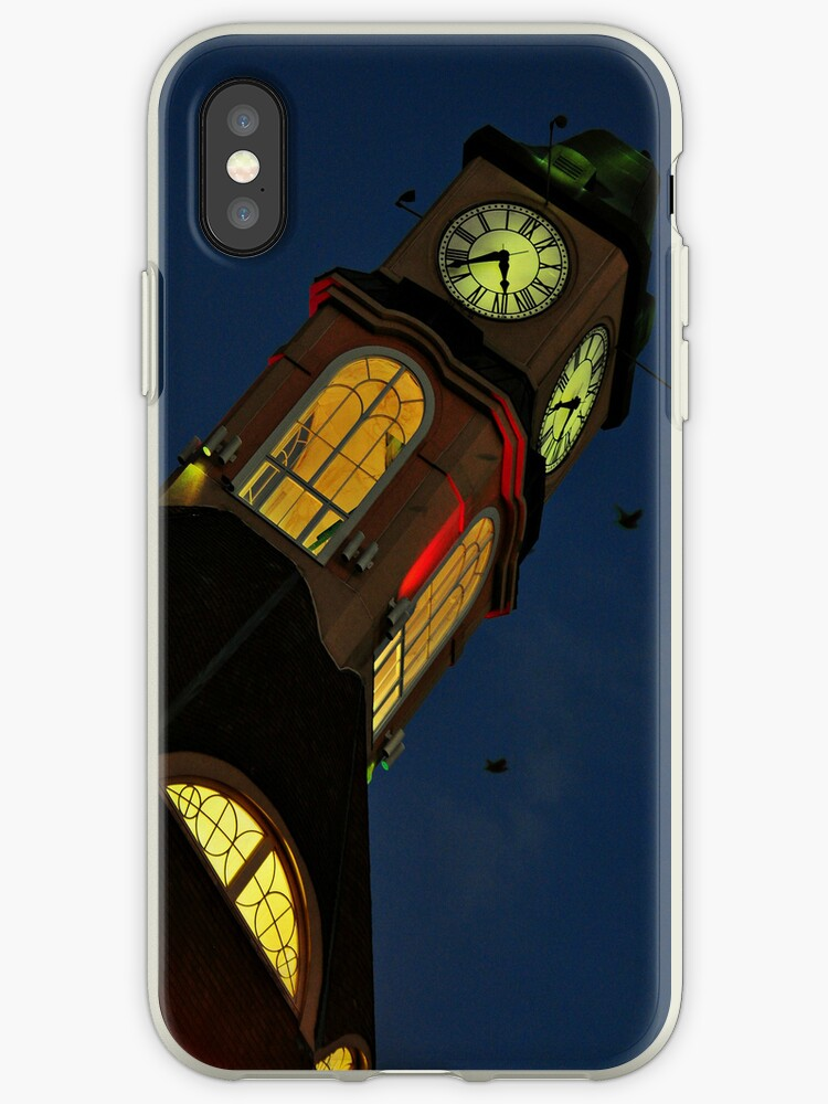 Clock Tower- iPhone Case by Jeananne  Martin