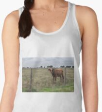 Da Brown Cow Women's Tank Top
