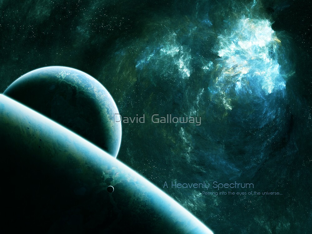 A Heavenly Spectrum by David  Galloway