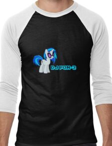 DJ-PON3 Men's Baseball ¾ T-Shirt