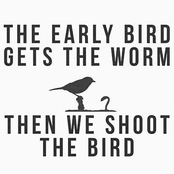 Early Bird Gets The Worm... by Deividas
