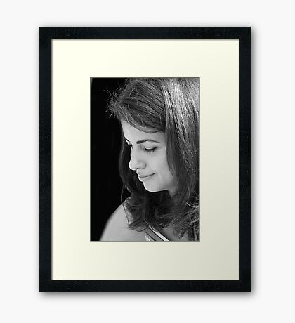 A Peaceful Moment Framed Print