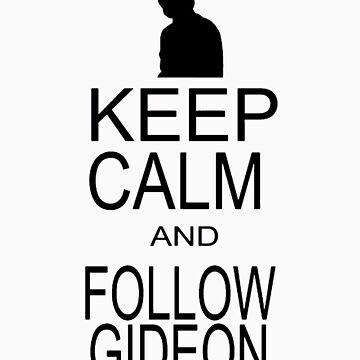 Follow Gideon by sneakazeke