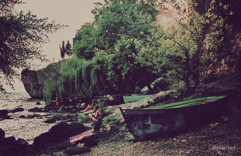 Ohrid - Kaneo, Macedonia by distracted