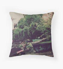 Ohrid - Kaneo, Macedonia Throw Pillow