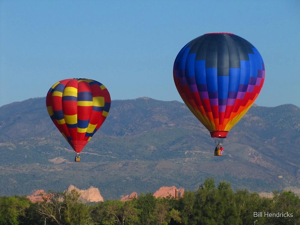 Balloons over Garden of the Gods by Bill Hendricks