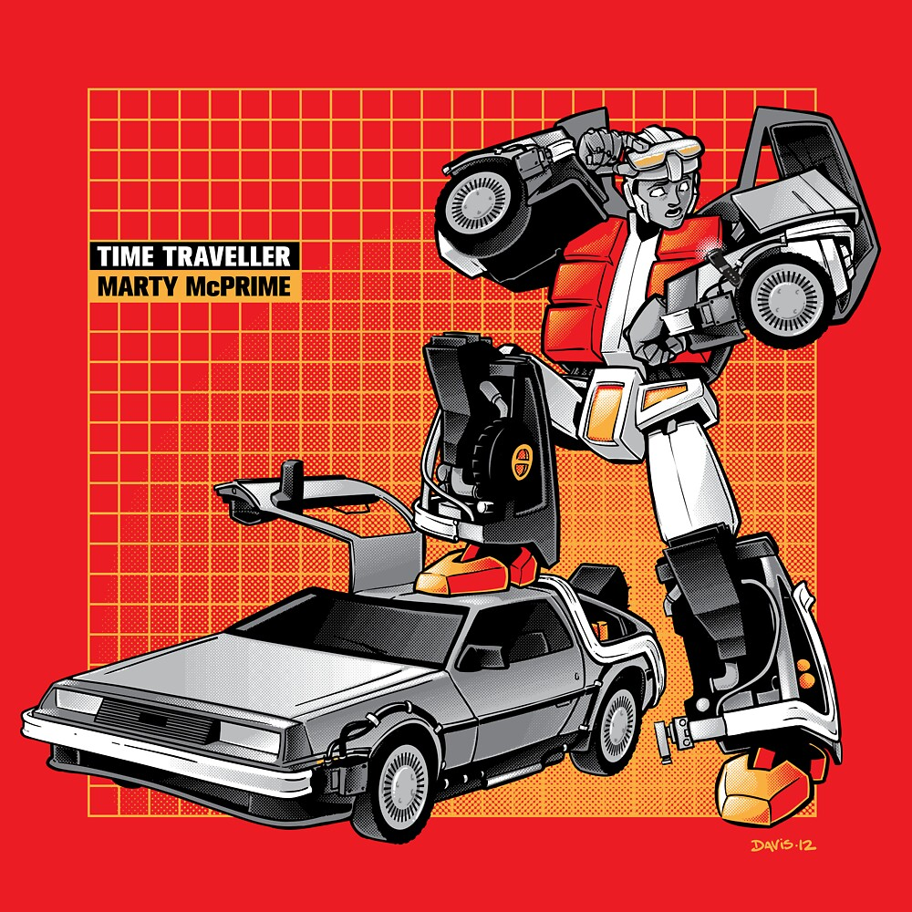 Marty McPrime (Print Version) by Nathan Davis