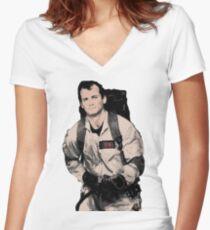 Venkman Women's Fitted V-Neck T-Shirt
