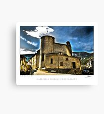 Old abbey Canvas Print