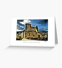 Old abbey Greeting Card