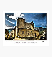 Old abbey Photographic Print