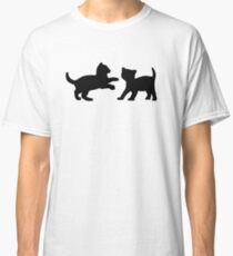 Kittens Playing Classic T-Shirt
