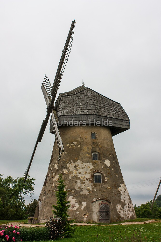 Mill by Gundars Helds