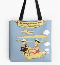 Greetings from the sky Tote Bag