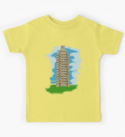 spray can tower block  Kids Clothes