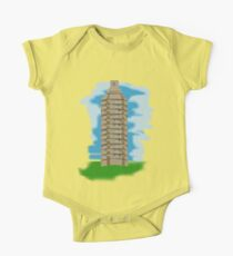 spray can tower block  One Piece - Short Sleeve