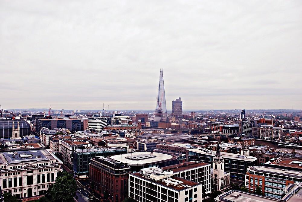 Shard and Skyline by babibell