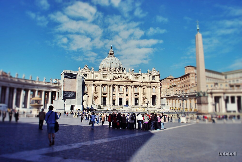 St Peter's, Rome | Vintage by babibell