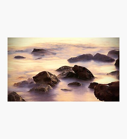 Sunrise Rocks Photographic Print