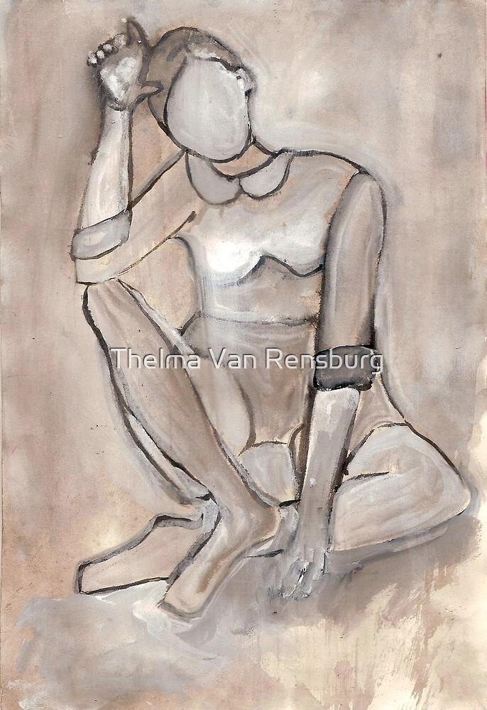 Contemplation by Thelma Van Rensburg