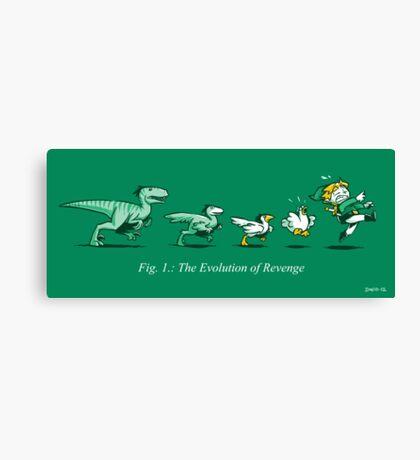 The Evolution of Revenge (Print Version) Canvas Print