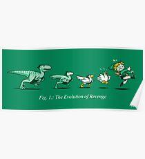 The Evolution of Revenge (Print Version) Poster
