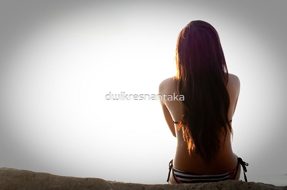 feeling lonely by dwikresnantaka