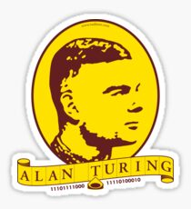 Alan Turing Sticker