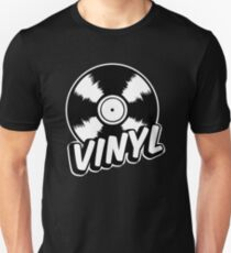 Vinyl Slim Fit T-Shirt