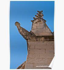 A church grotesque Poster