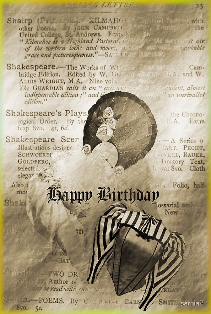 A little vintage -female Birthday Card by sarnia2