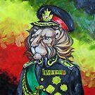 Haile Selassie I - The Lion by Ellen Marcus