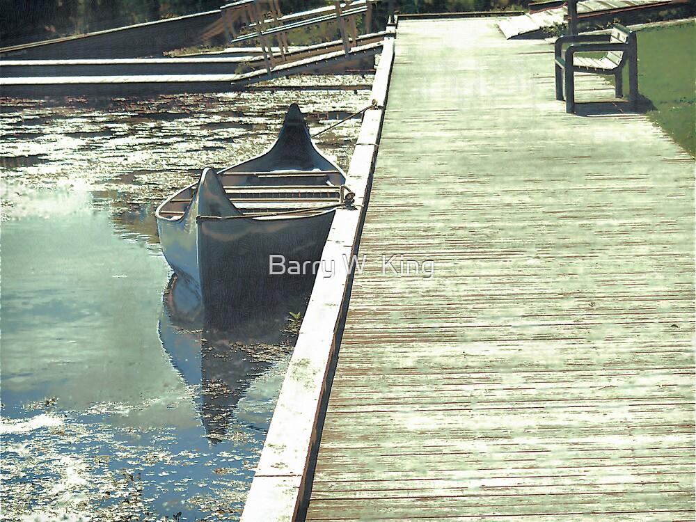 Canoe by Barry W  King