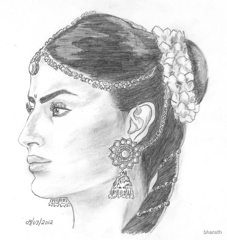 Mouni Roy as Sati by bharath